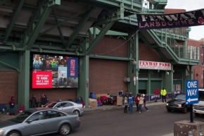 2014 Boston Red Sox Opening Day - Social Media Board