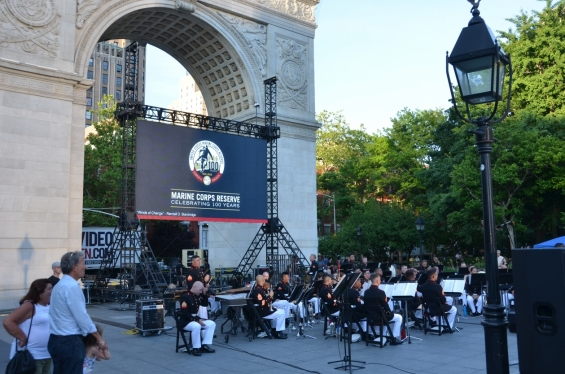 2017 Marine Corps Band - Washington Square