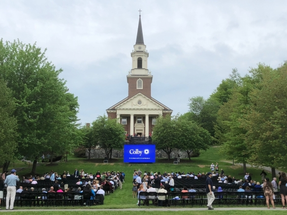 2018 Colby College Baccalaureate